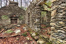 Sugarlands Stone Cabin